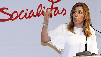 La presidenta de Andalucía defiende la honestidad de Chaves y Griñán