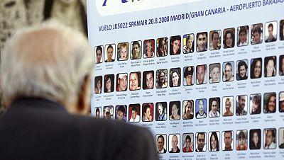Casi la mitad de los familiares de las víctimas del accidente de Spanair ha cobrado la indemnización