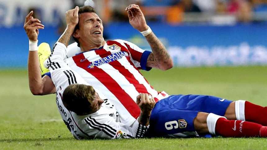 Sergio Ramos no echó de menos a Diego Costa por culpa de Mandzukic