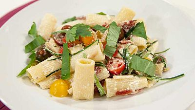 La ma�ana - Ensalada de pasta con Rigatoni