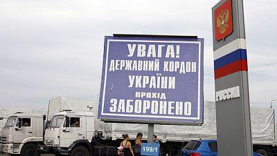 """Poroshenko considera que la entrada del convoy ruso es """"una violación del derecho internacional"""""""