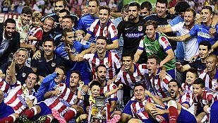 El Atlético, supercampeón de España 2014