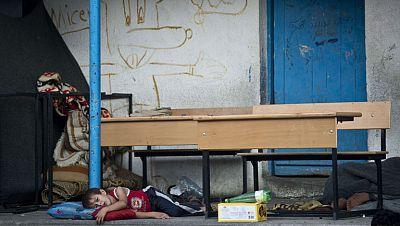 Se intensifican los ataques a Gaza tras la muerte de un niño israelí