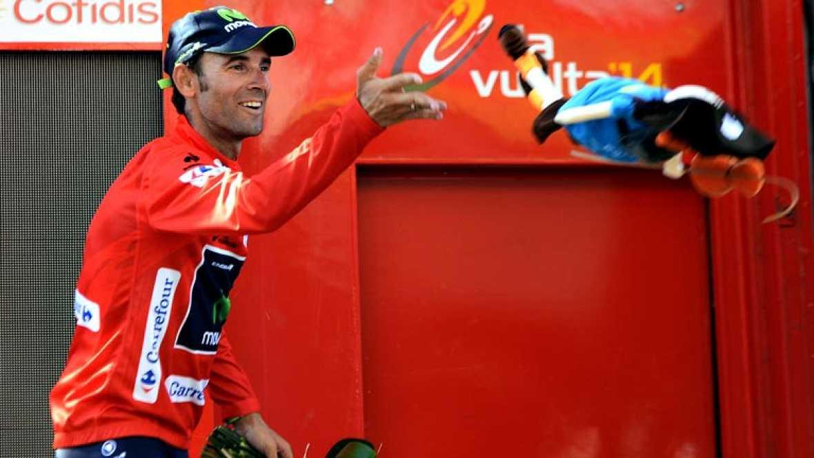 """El francés Nacer Bouhanni (La Francaise), un joven de 24 años aficionado al boxeo """"en periodos de descanso"""", se consolidó en San Fernando como velocista al imponerse con autoridad en la primera llegada masiva, en una jornada en la que Alejandro Valve"""