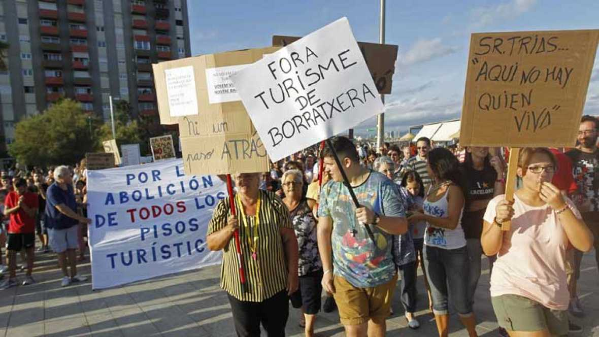 """Barcelona contra el """"turismo de borrachera"""""""