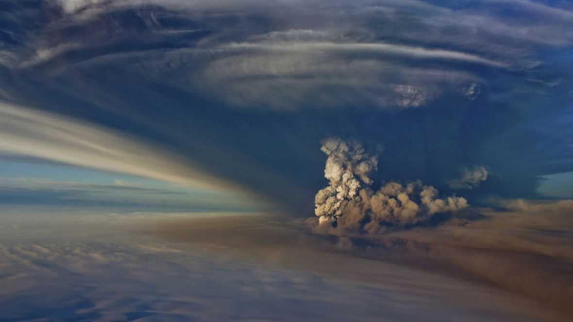 Resultado de imagen de erupción en el volcán Bárdarbunga