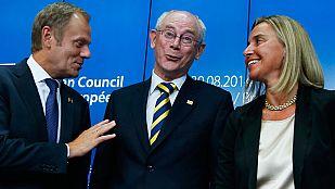 Los jefes de Estado y de Gobierno de los 28 han elegido a Donald Tusk como nuevo presidente del Consejo Europeo