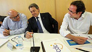 Artur Mas transmite a altos cargos de la Generalitat la certeza de que habrá consulta