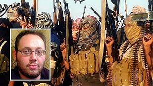 Los yihadistas difunden un vídeo que muestra la decapitación de otro rehén estadounidense