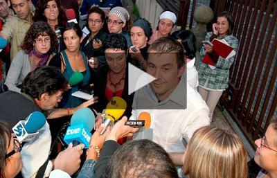 Arnaldo Otegi, en libertad tras 15 meses de cárcel