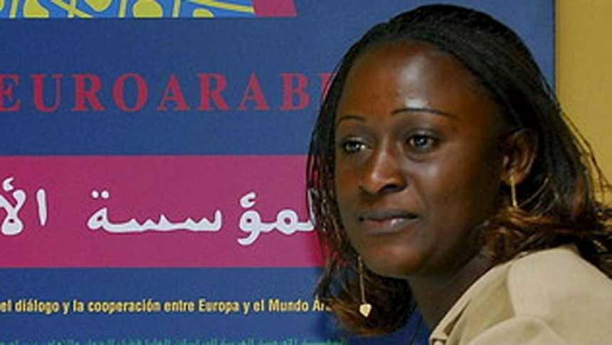 La periodista congoleña Caddy Adzuba, Premio Príncipe de la Concordia 2014