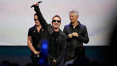 El último album de U2, gratis en iTunes de Apple