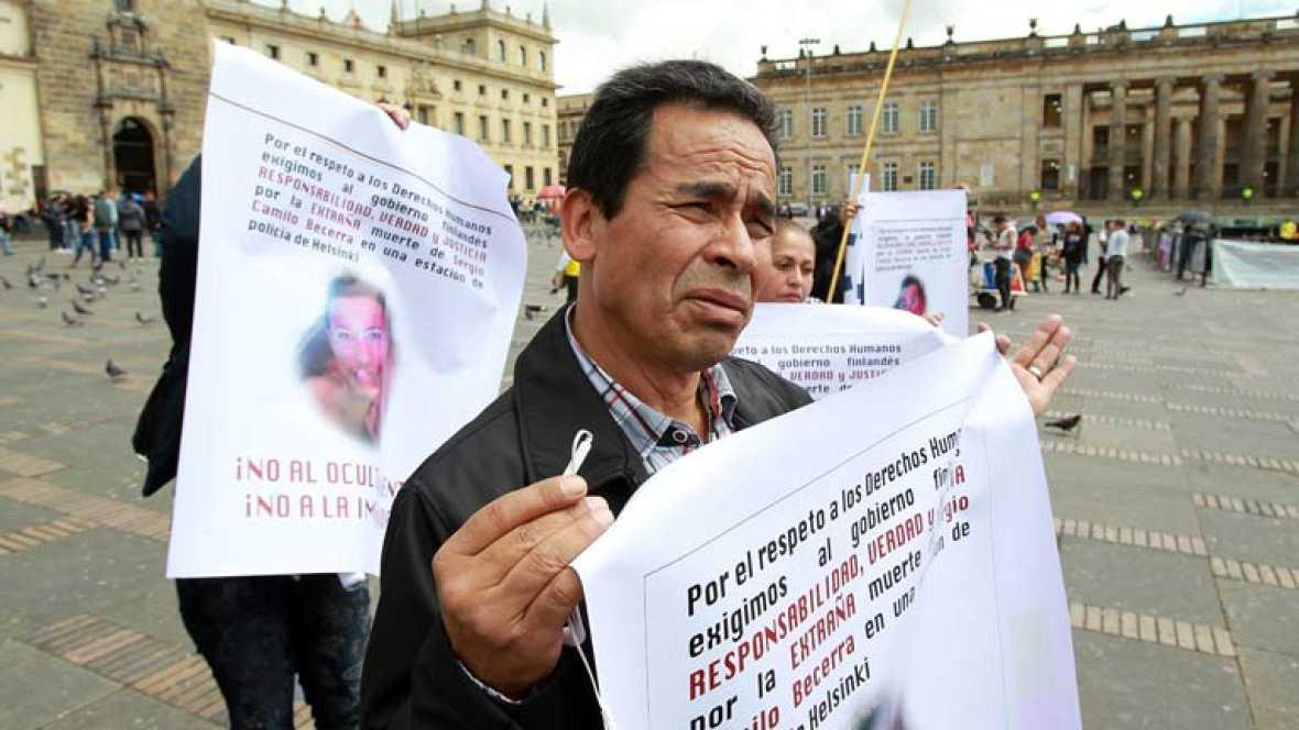 Escasa participación en los actos de la Semana por la Paz en Colombia