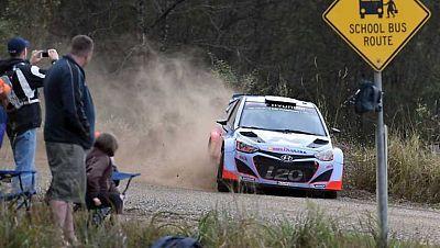 Automovilismo - WRC Campeonato del Mundo 'Rally Australia'. Resumen 2ª jornada - ver ahora