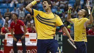 Melo y Soares derrotan a Marrero y López y ponen a Brasil 2-1 en la serie