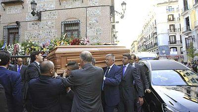Último adiós a Isidoro Álvarez