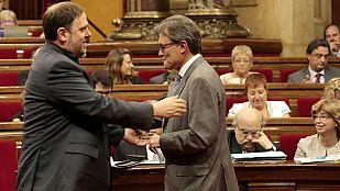 """ERC se ofrece a entrar en Govern para """"blindar"""" la consulta pero Mas dice que """"no es el momento"""""""