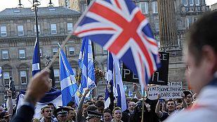 La campaña en Escocia continúa hasta el último minuto