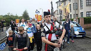 Los escoceses acuden a las urnas para decidir si se independizan de Reino Unido