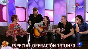 T con T - Inma Serrano y Vicente Seguí interpretan el tema 'Estaba escrito'