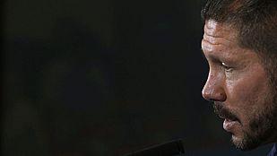 """Simeone: """"Debemos estar a la altura ante el Celta"""""""