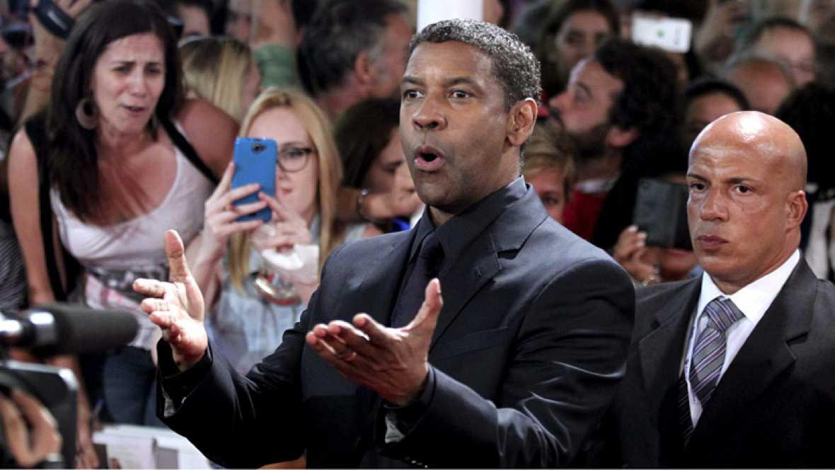 Denzel Washington recibe el Premio Donostia en la 62 edición del Festival de Cine de San Sebastián