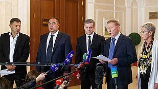 Kiev y los prorrusos firman un acuerdo de paz