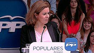 Sáenz de Santamaría pide a Mas que piense antes de convocar la consulta