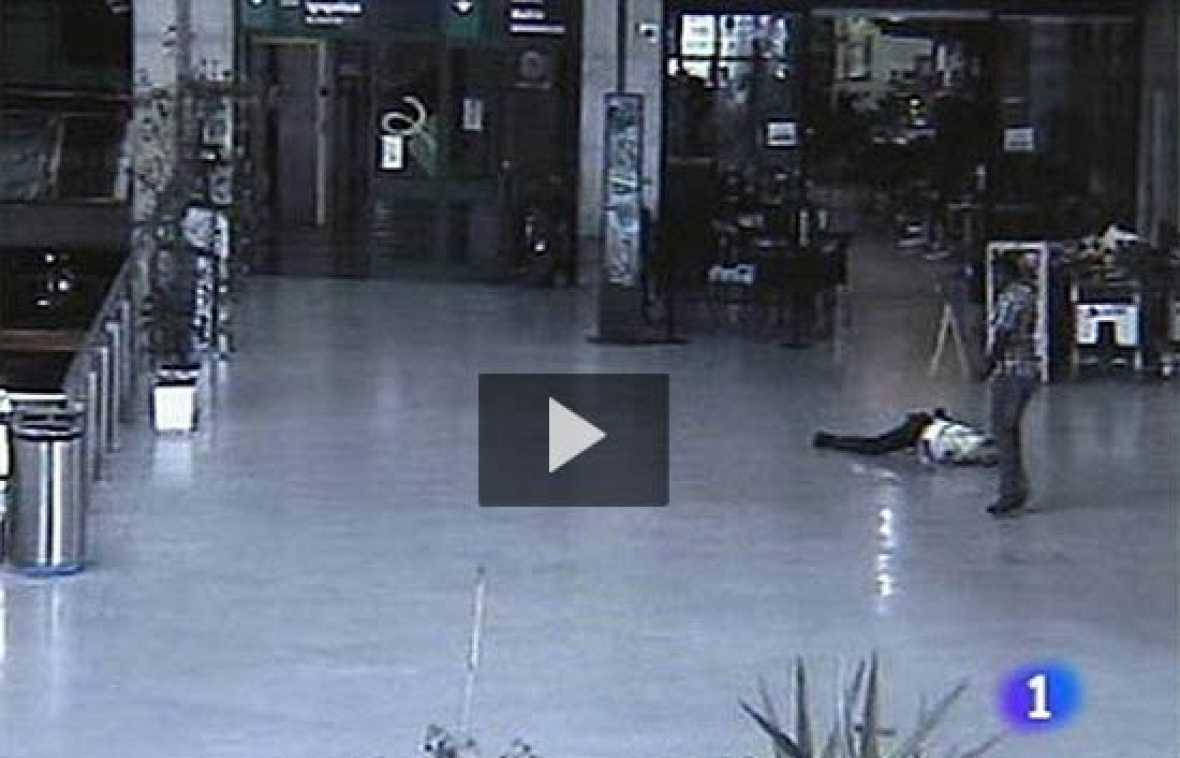 La estación de Abando, en Bilbao, fue testigo de un tiroteo entre un vigilante y un guardaespaldas de un concejal del PP.