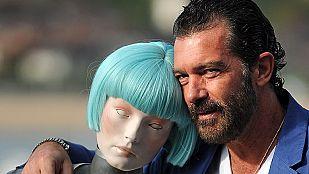 Antonio Banderas llega al Festival de Cine de San Sebastián