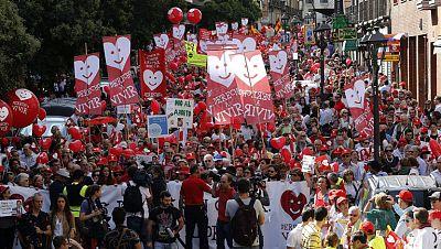 Numerosas manifestaciones a favor de la reforma de la ley del aborto