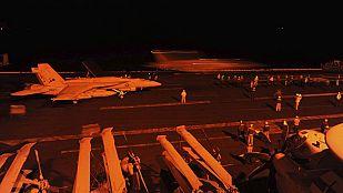 Estados Unidos inicia los bombardeos contra los terroristas del Estado Islámico en Siria