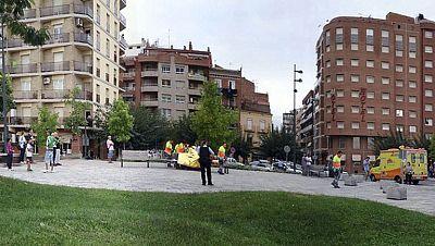 Más de cien Mossos persiguen al hombre que ayer apuñaló a cinco personas en la calle