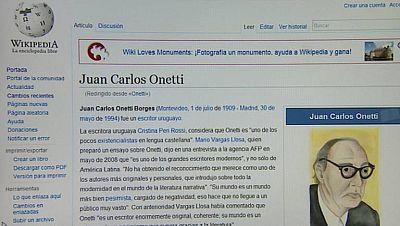 La Wikipedia ha mejorado su información sobre la lengua española y la literatura española