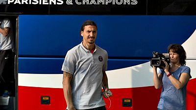 El delantero sueco del París Saint-Germain (PSG) Zlatan Ibrahimovic no jugará mañana por lesión frente al Barcelona en la segunda jornada del Grupo F de Liga de Campeones.   Ibrahimovic, gran referente ofensivo del club parisino, ha sido duda hasta ú