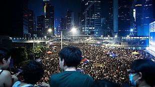 Los jóvenes se preparan para endurecer la protesta ante Día Nacional de China