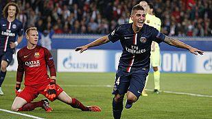 El Barça hace aguas en París