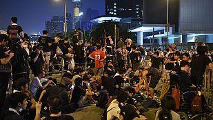 El Gobierno de Hong Kong exige el cese de las protestas y tensa el pulso con los manifestantes