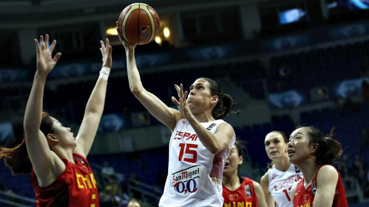 La selección española femenina de baloncesto se ha clasificado  para semifinales de la Copa del Mundo de Turquía, que disputará ante  la anfitriona o Serbia, después de barrer de la pista a China (71-55)  en su compromiso de cuartos de final, ejercie