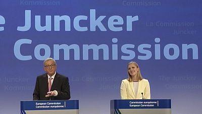 La propuesta de Jean-Claude Juncker para el nuevo gobierno de la Unión Europea pasa el examen de la eurocámara con apenas dos bajas