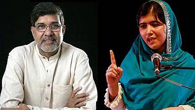 La joven Malala y el indio Satyarthi ganan el Nobel de la Paz por defender el derecho a la educación