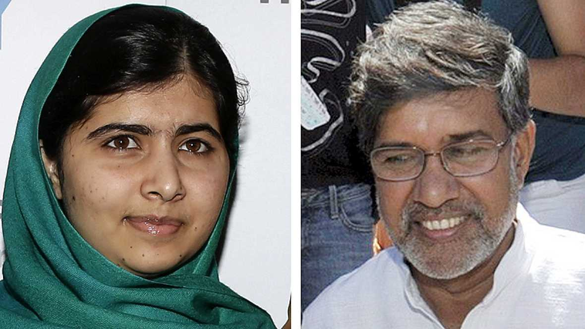 Malala comparte el Nobel de la Paz con el activista indio Satyarthi, por los derechos de los niños