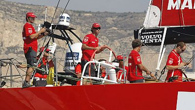 Con Iker Martínez y Xavi Fernández a la cabeza, el equipo español Mapfre ha iniciado su aventura en la Volvo Ocean Race, una carrera que les llevará alrededor del mundo durante nueve meses.
