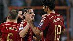 Diego Costa se estrena por fin con la Roja (0-3)