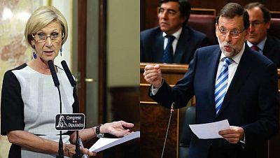 """Rajoy dice haber sido """"diligente"""" en el escándalo de las tarjetas opacas de Caja Madrid"""