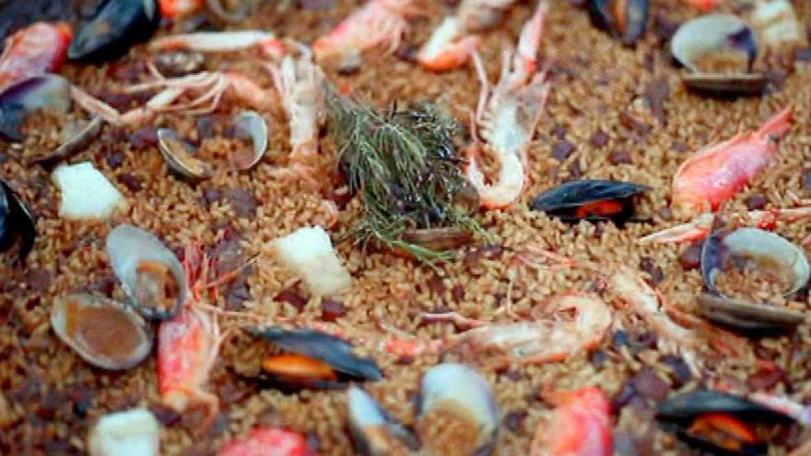 Paella de pescado escrib - Paella de pescado ...