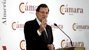 """Rajoy dice que cuando llegó al Gobierno """"una parte de nuestro sistema financiero estaba en quiebra"""""""