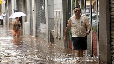 Las fuertes lluvias dejan una víctima mortal en Canarias