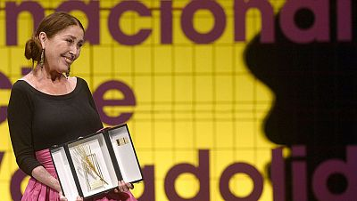 Verónica Forqué, Espiga de Oro de Honor en la Seminci