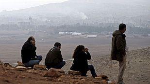 Turquía permitirá a los combatientes kurdos de Irak cruzar la frontera para luchar contra los yihadistas